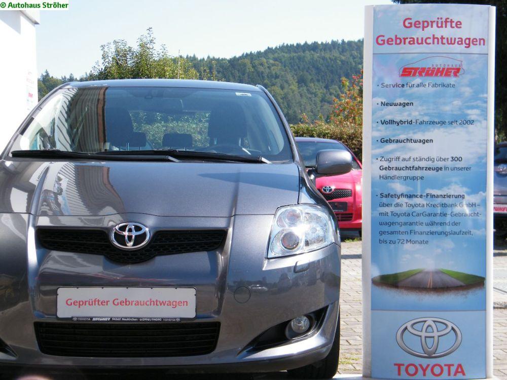 Fahrbericht: Auris. Legende schreibt man anders - bisher. Der Volks-Wagen von Toyota. (3/6)