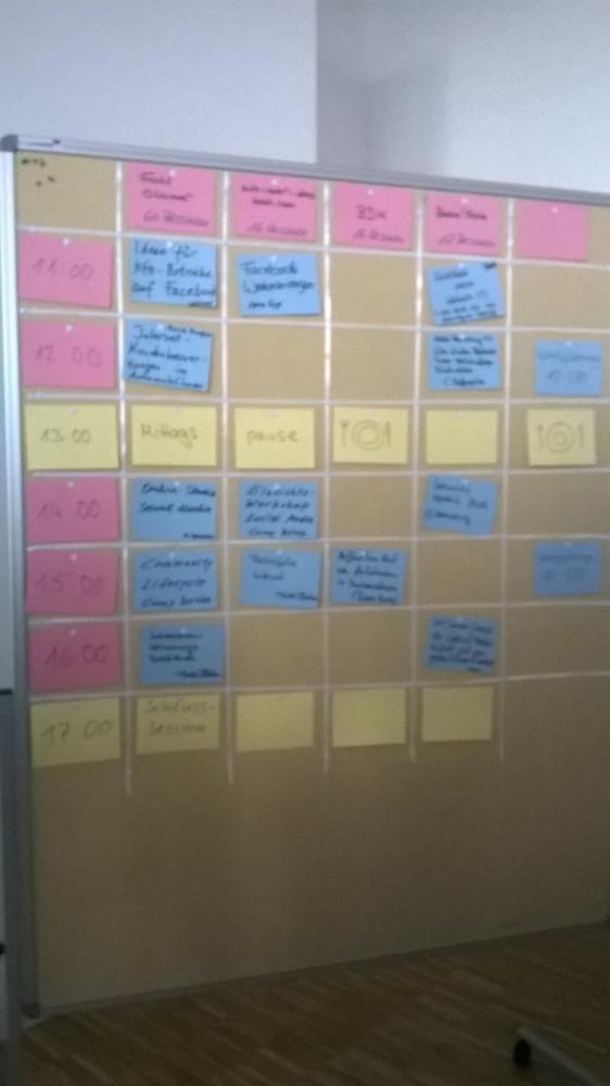 Mein allererstes Barcamp - #CaCaMa  (2/6)